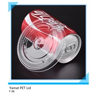 98mm plastic pet flat cup lid