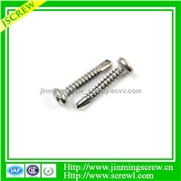 China manufactory Low price stainless steel self drilling screw