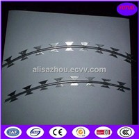 Bto-10, Bto-22, Bto-30, Hot Dipped Galvanized Razor Ribbon Wire