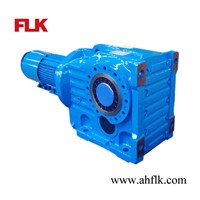 China KA87 Hollow Shaft Helical Bevel Gearbox Geared Motor Reducer