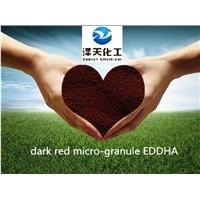 Chelated Iron Fertilizer EDDHA Fe 6% from China Manufacturer
