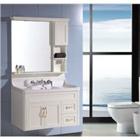 Modern bathroom cabinet made of pvc OLY075