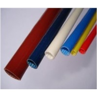 Silicone Rubber Glassfiber insulating Sleeving