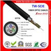 Aluminum Armoured Outdoor Fiber Optic Cable (GYTA)