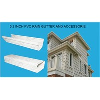 2015 Hotsale!!!PVC rain gutter system and downspout for drianage system
