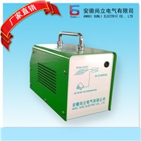 Solar home generator Solar lighting generator 7W for lighting and moblie charging