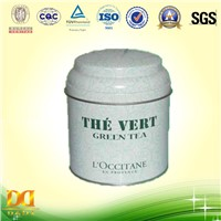 Green Tea Packing Tin Box