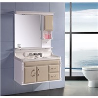 Modern bathroom vanity with led light OLY083