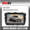 Special Car video For KIA SORENTO 2013-2014 With GPS Bluetooth support iPod radio dvd