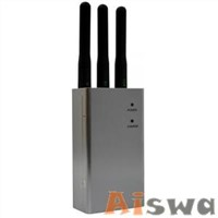 2400mW,5200mA GPS GSM Jammer with Carry case CTS-1000HG