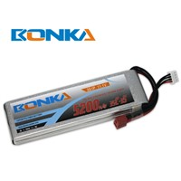 5200mah 11.1V 3S 35C lipo battery for rc helicopter