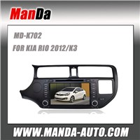 Manda Car audio for KIA RIO 2012/K3 Autoradio HD GPS DVD mp4 mp3 USB BLUETOOTH