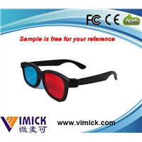 Best selling consumer products ABS 3d glasses