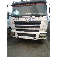 Shanqi Delong FD3000 used condition year 2010 mixer truck second hand Delong 12m3 mixer truck