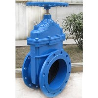 DIN Ductile Iron Non-Rising Resilient Gate Valve