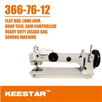 Keestar 366-76-12 Long Arm Zigzag Sewing Machine