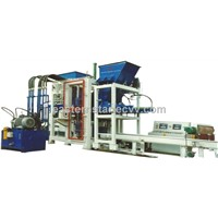 QM6 Hydraulic vibration hollow brick concrete block machine