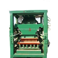 QFT10 Compressive strength interlocking brick making machine hydraulic concrete block machine