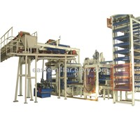 QFT9 fully-automatic concrete brick machine
