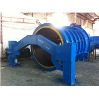 Reinforced Concrete pipe hanging roller machine for water drainage and agricultural irrigation