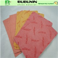Water proof non-woven fiber insole board for making shoes