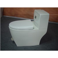 foot stepping toilet