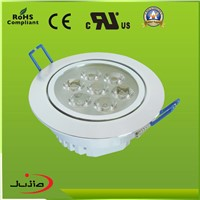2014 New Popular Dimmable SMD & COB IP44 LED Down Light CE ROHS