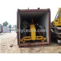 Used CAT Grader 140H in Shanghai Shipping Into Container
