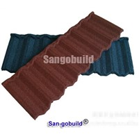 China Metal Roof Tile Price Stone Coated Steel Roofing Sheets
