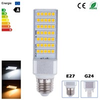 G24 PLC LED Plug Bulb Light/13W 5050SMD LED Lamp With 3 Year Warranty CE Approved Power Supply