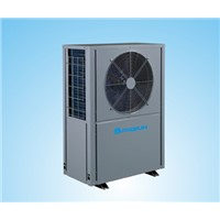 air to water heat pump with heating and cooling