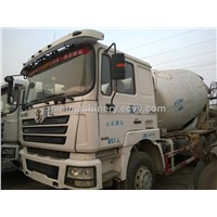 Used condition Shacman Delong 12m3 mixer truck second hand Shacman Delong 12m3 mixer truck sale