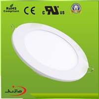 indoor lights 6W Round high power led panel light with CE& RoHS