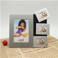Aluminum Fridge Magnets Photo Frame