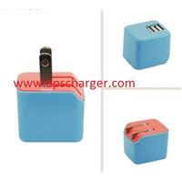 USB WALL CHARGER US EU UK