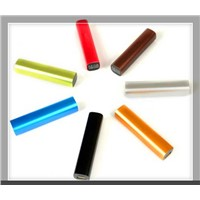 Lipstick Power bank torch Portable emergency charger Original Samsung/LG 18650 li-ion battery cell