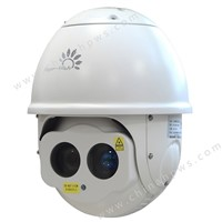 night vision PTZ IR Laser Dome Camera 300m