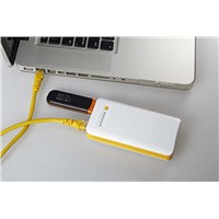 USB Card reader Wireless Internet Portable 3G WiFi Router 4G Wireless 150Mbps Power Bank 7800mAh
