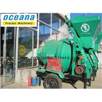 JZC450B roating concrete drum mixer for sale