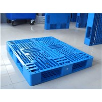 Single tray plastic pallet new and recycle