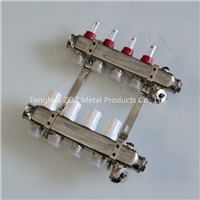 Stainless steel Radiant Heating Manifolds