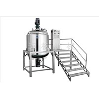 500L heating and homogenizing emulsifying machine