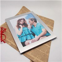 A4 Certificate Aluminum Metal Photo Frame
