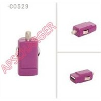 Mini USB CAR  Charger For iPad and iPhone