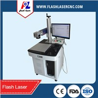 Desktop mini 10w  fiber laser metal marking machine