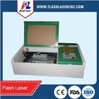 Mini Laser Engraving Machine,Laser Stamp Engraving,Small Laser Cutting Machine 300*200mm 40W