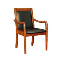 Office Furniture Conference Chair Teak Leather Chair