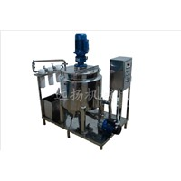 Type C heating shear emulsification equipment