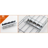 Vichnet wire mesh cable tray Floor mountings