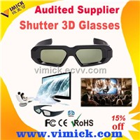 hot gift 3D Shutter Glasses Fully Compatible with All DLP-Link Projectors